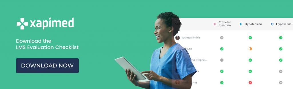Healthcare LMS Checklist Download